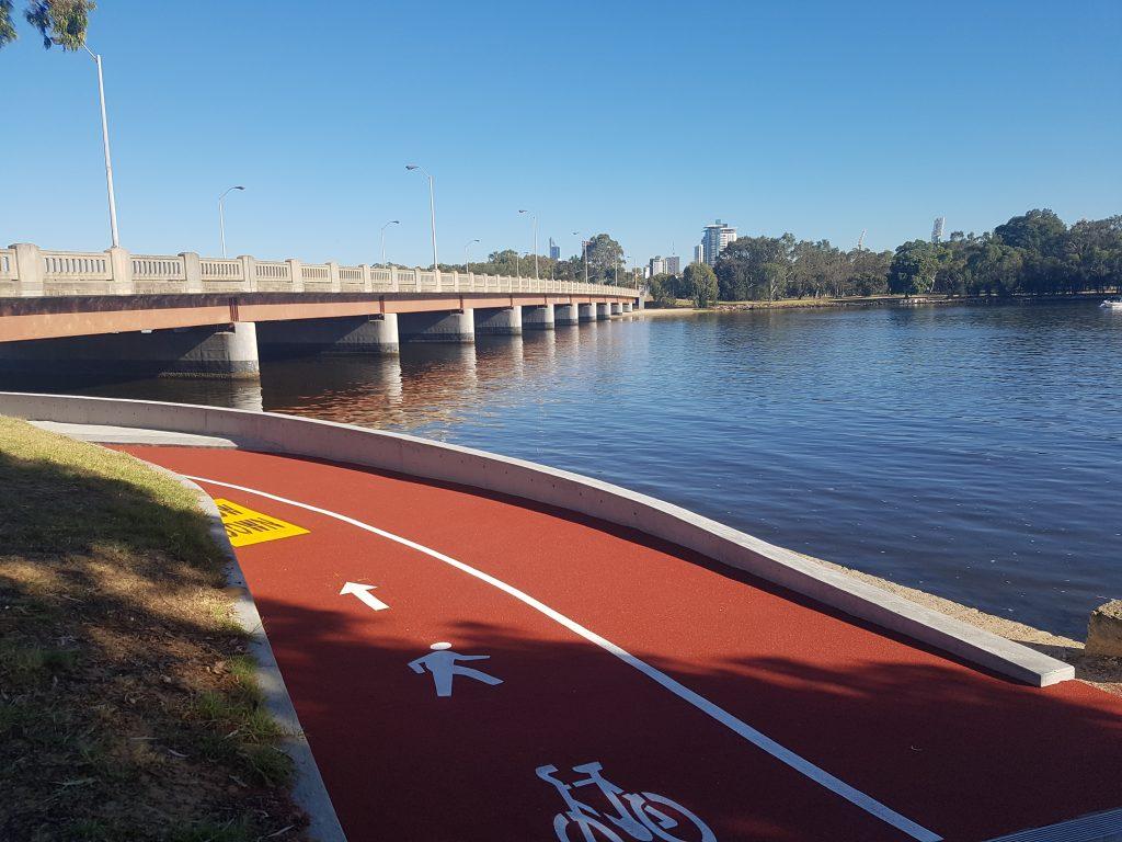 Bike and Pedestrian Path under the Causeway