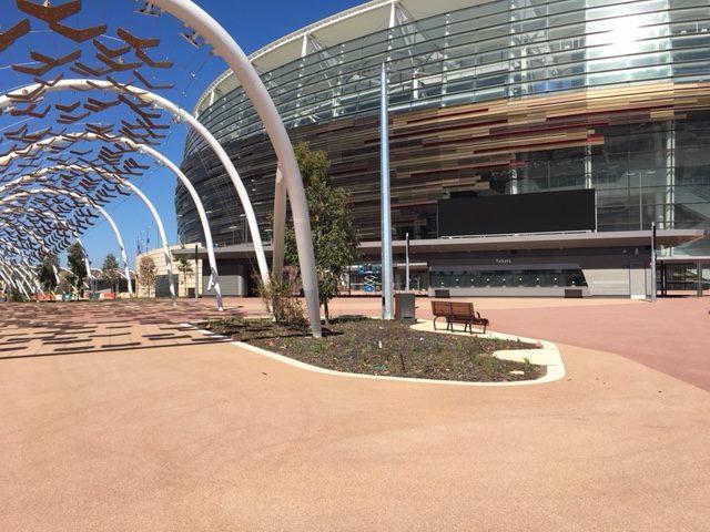 Optus Stadium Walkway