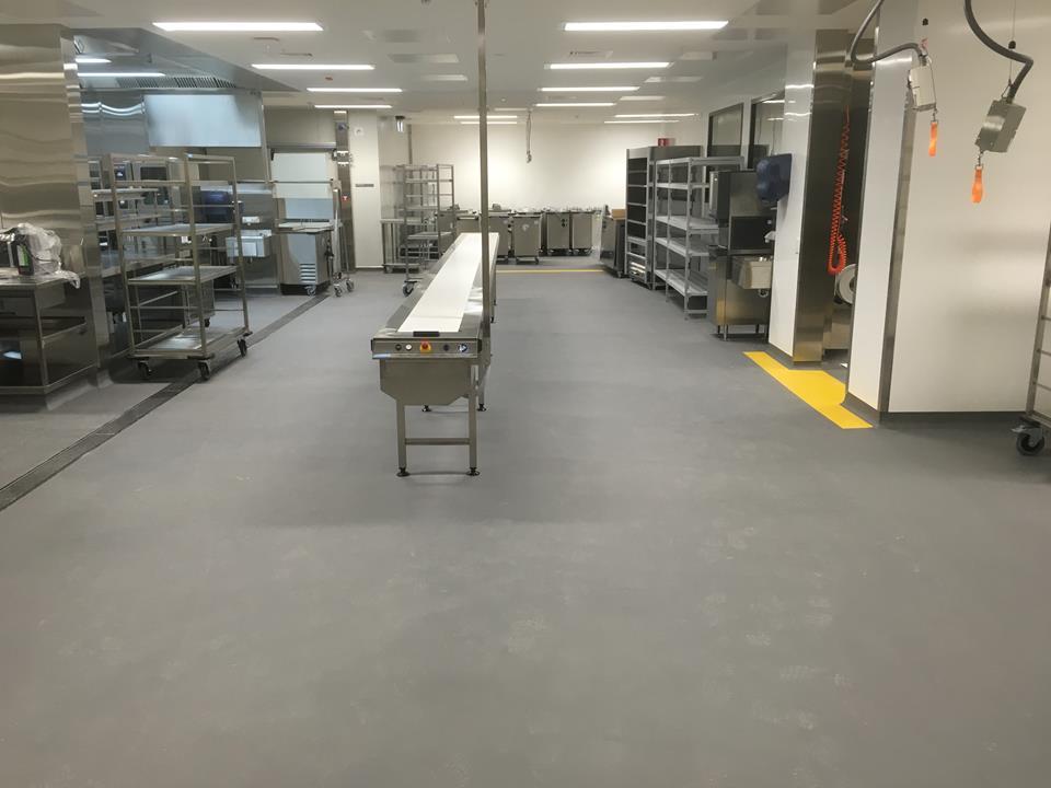 Superb commercial kitchen flooring