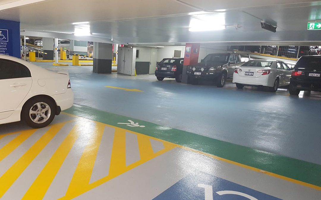 Pier St Car Park – Bright Demarcation Makes a Difference