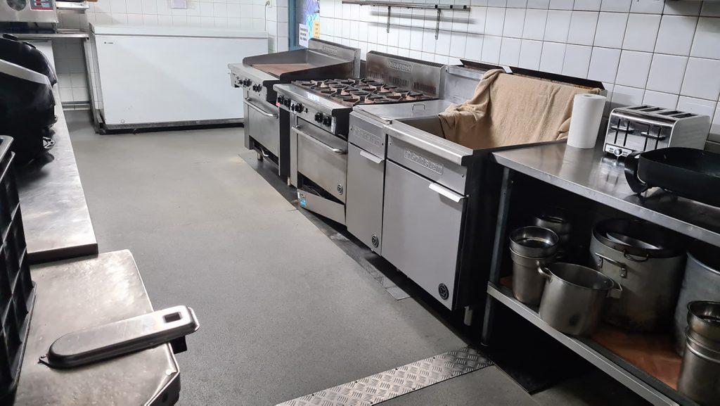 Full kitchen floor refurbishment