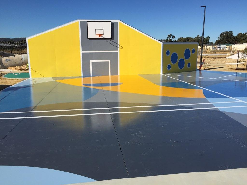 Sienna Park basketball court