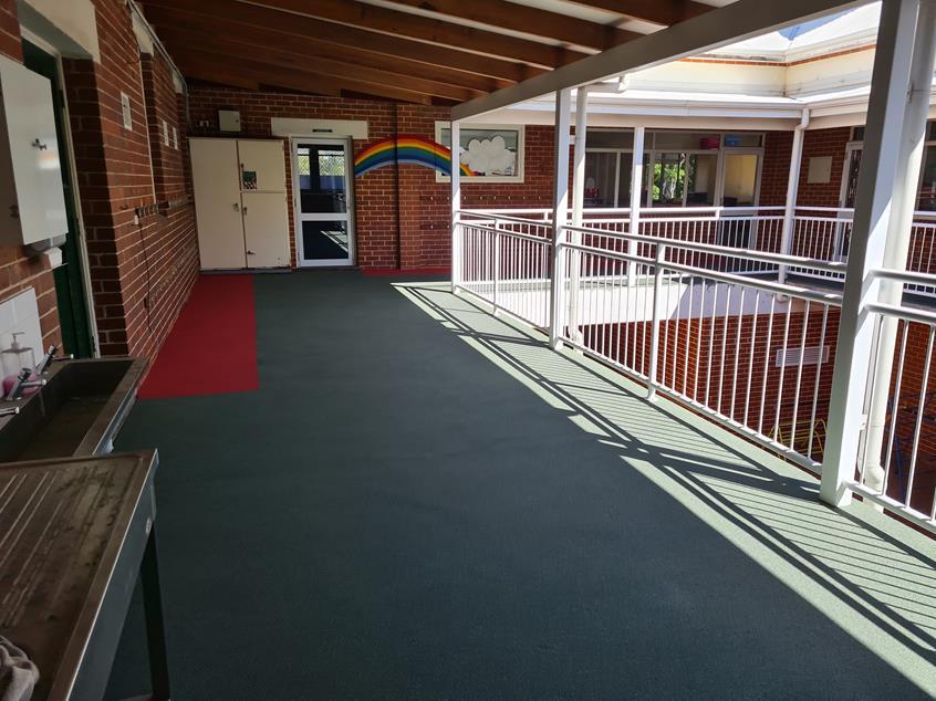 School Upper Balcony