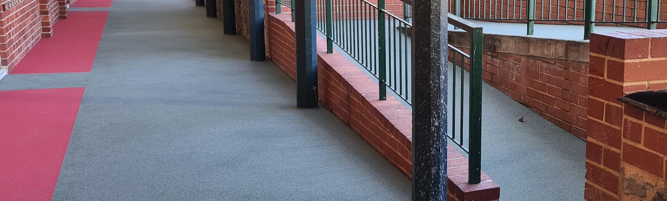 School Balcony & Ramp