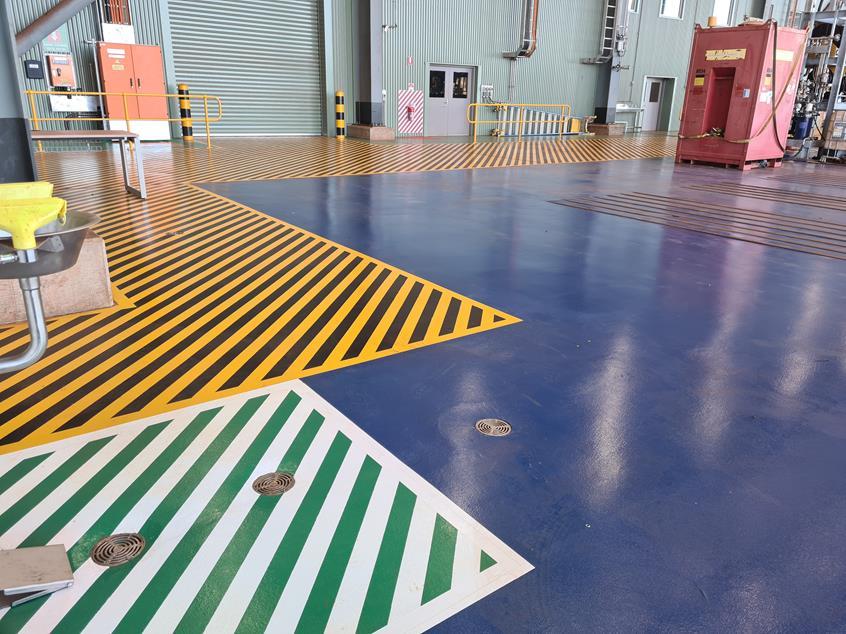 Workshop Safety Demarcation