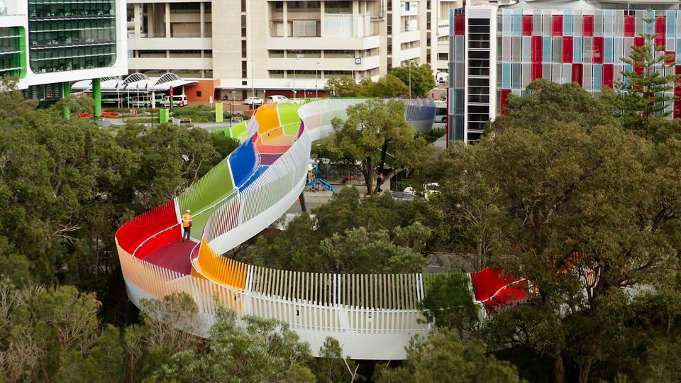 Kids Bridge Aerial