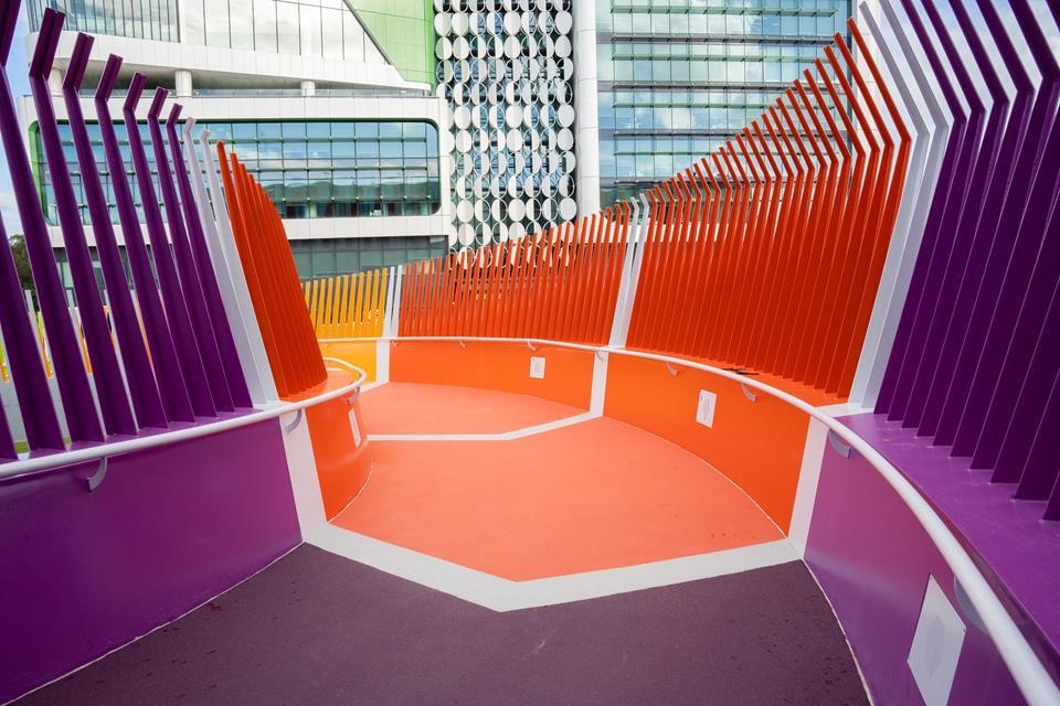 View Toward the Children's Hospital